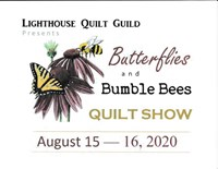 Butterflies and Bumblebees Quilt Show  in Crescent City