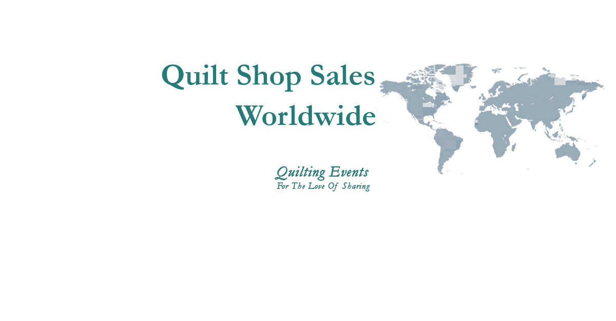 quilt shop sales of worldwide